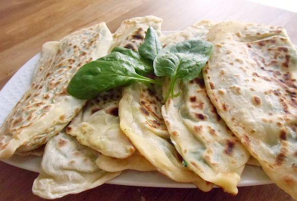 Türkisches Pfannenbörek mit Spinat | Canan´s Rezepte